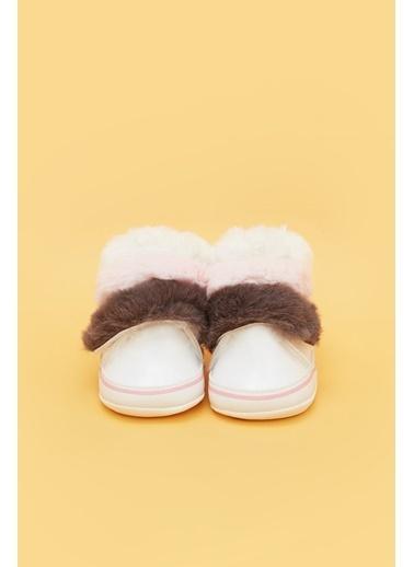 BG Baby Kız Bebek Beyaz Patik Beyaz